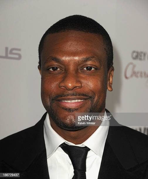 Actor Chris Tucker attends a screening of The Weinstein Company's Silver Linings Playbook at the Academy of Motion Picture Arts and Sciences on...