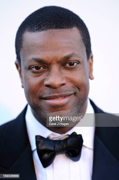 Actor Chris Tucker attends amfAR's 20th Annual Cinema Against AIDS during The 66th Annual Cannes Film Festival at Hotel du CapEdenRoc on May 23 2013...