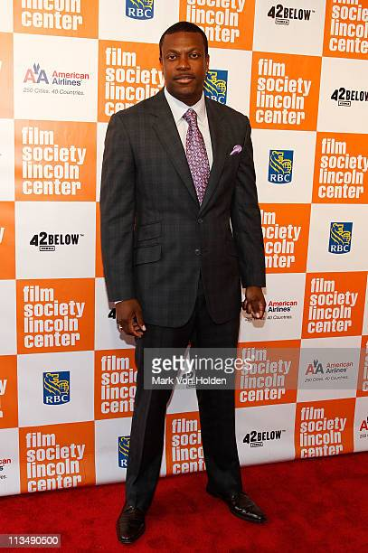 Actor Chris Tucker attends The Film Society of Lincoln Center's presentation of the 38th Annual Chaplin Award at Alice Tully Hall on May 2, 2011 in...