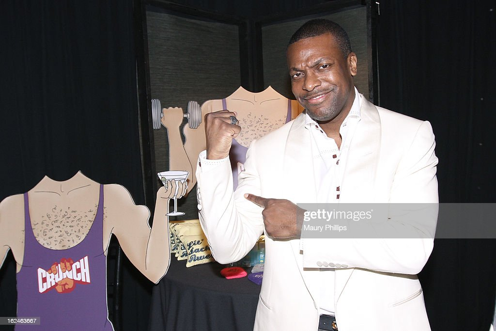 Actor Chris Tucker attends the On3 Official Presenter Gift Lounge during the 2013 Film Independent Spirit Awards at Santa Monica Beach on February 23, 2013 in Santa Monica, California.