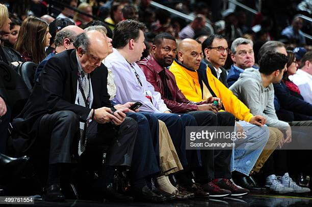 Actor Chris Tucker attends the Toronto Raptors game against the Atlanta Hawks on December 2 2015 at Philips Arena in Atlanta Georgia NOTE TO USER...
