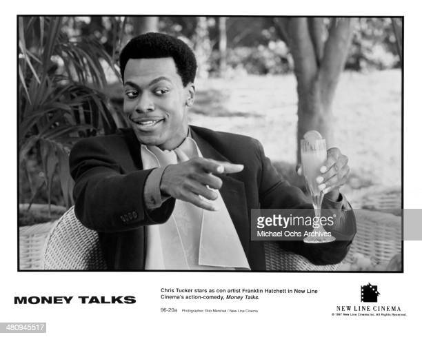 Actor Chris Tucker in a scene from the movie Money Talks circa 1997