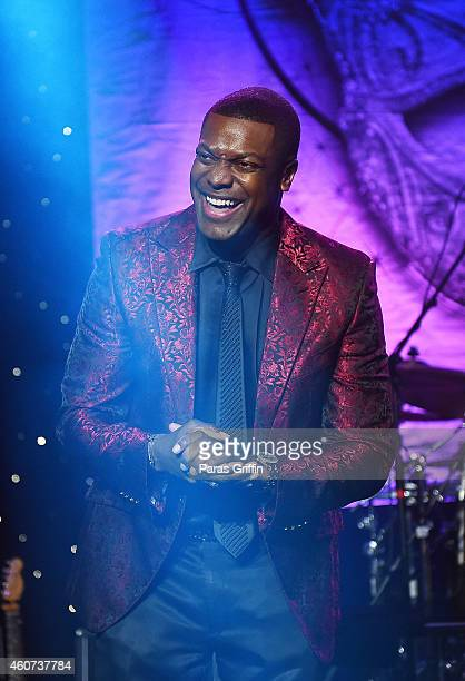 Actor Chris Tucker onstage at 31st Annual UNCF Mayor's Masked Ball at Marriott Marquis Hotel on December 20 2014 in Atlanta Georgia