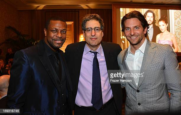Actor Chris Tucker producer Tom Rothman and actor Bradley Cooper attend the 13th Annual AFI Awards at Four Seasons Los Angeles at Beverly Hills on...