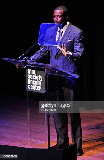 Actor Chris Tucker speaks onstage at The Film Society of Lincoln Center's presentation of the 38th Annual Chaplin Award at Alice Tully Hall on May 2,...
