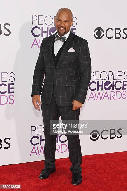 Actor Chris Williams attends the People's Choice Awards 2017 at Microsoft Theater on January 18 2017 in Los Angeles California