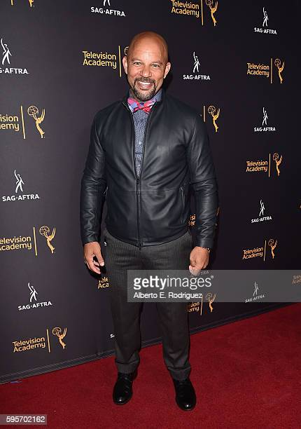 Actor Chris Williams attends the Television Academy And SAGAFTRA's 4th Annual Dynamic and Diverse Celebration at The Saban Media Center on August 25...