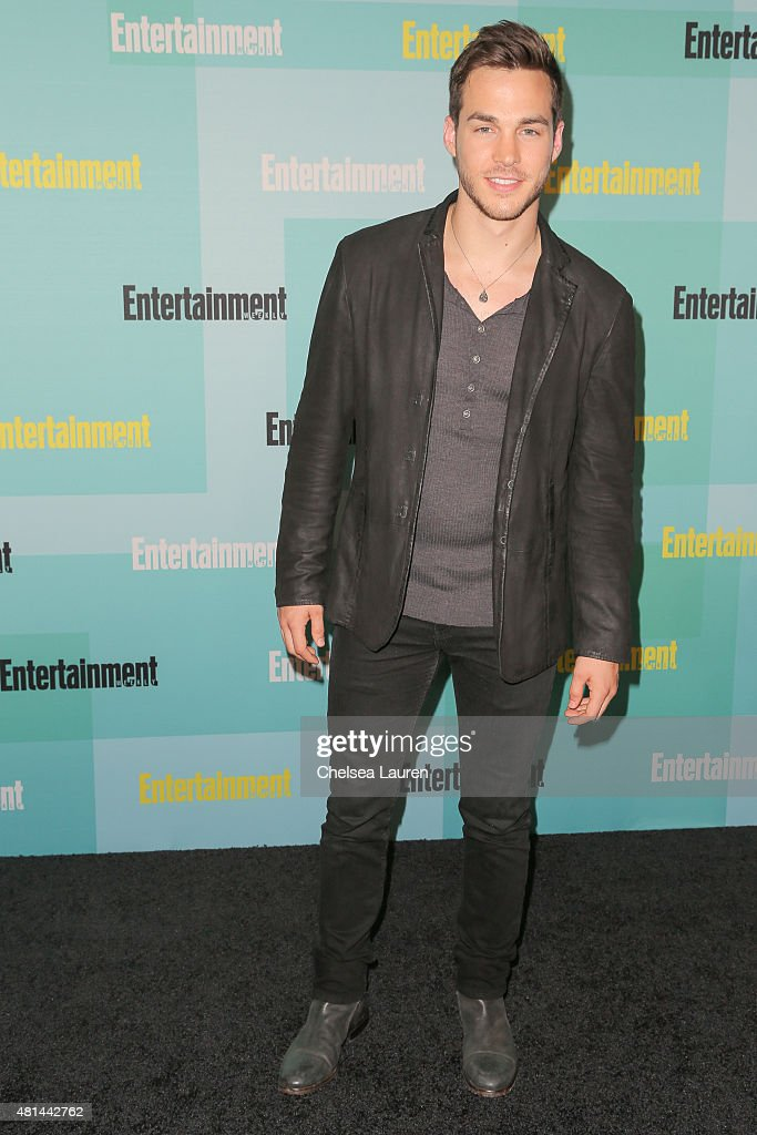Actor Chris Wood arrives at the Entertainment Weekly celebration at Float at Hard Rock Hotel San Diego on July 11, 2015 in San Diego, California.