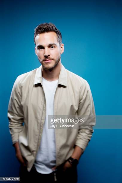 Actor Chris Wood from the television series 'Supergirl' is photographed in the LA Times photo studio at ComicCon 2017 in San Diego CA on July 22 2017...