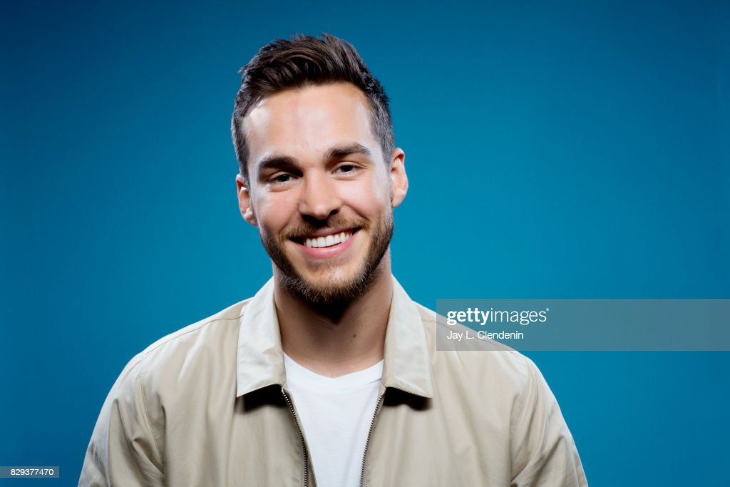 Actor Chris Wood, from the television series 'Supergirl,' is photographed in the L.A. Times photo studio at Comic-Con 2017, in San Diego, CA on July 22, 2017.