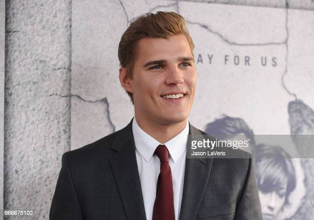 Actor Chris Zylka attends the season 3 premiere of The Leftovers at Avalon Hollywood on April 4 2017 in Los Angeles California
