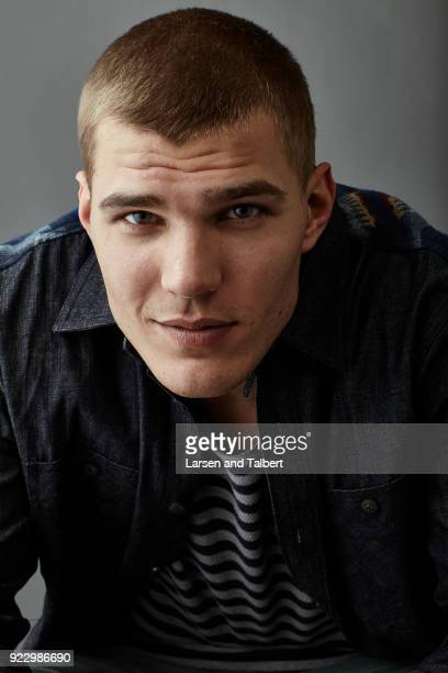 Actor Chris Zylka is photographed for InStyle Magazine on January 21 2011 at the Sundance Film Festival in Park City Utah Photo by Larsen and...