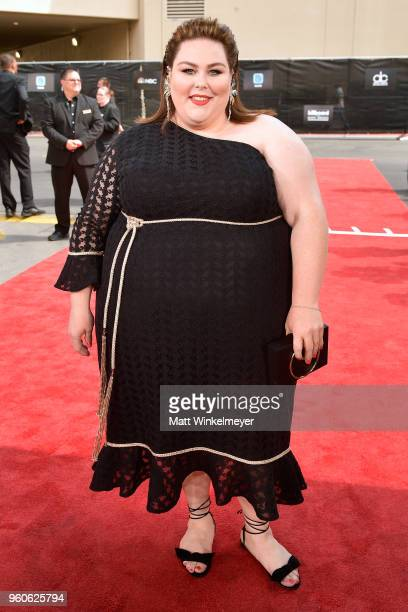 Actor Chrissy Metz attends the 2018 Billboard Music Awards at MGM Grand Garden Arena on May 20 2018 in Las Vegas Nevada