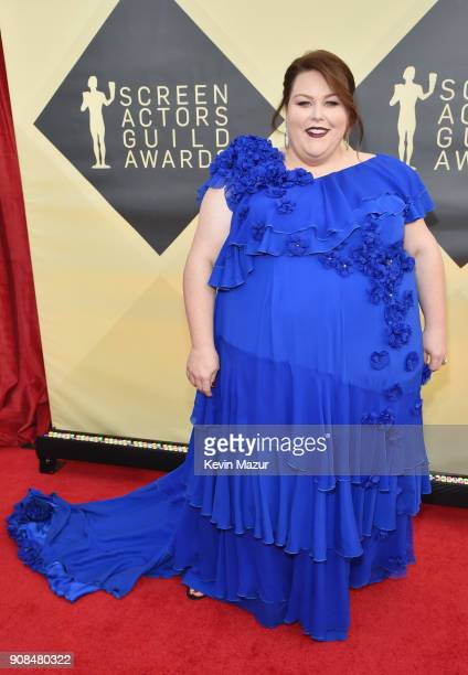 Actor Chrissy Metz attends the 24th Annual Screen Actors Guild Awards at The Shrine Auditorium on January 21 2018 in Los Angeles California 27522_007