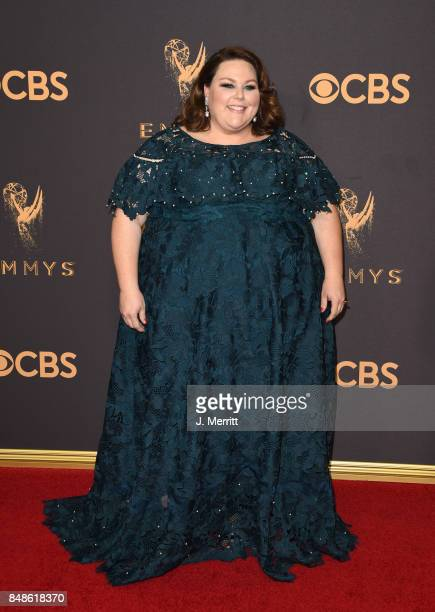 Actor Chrissy Metz attends the 69th Annual Primetime Emmy Awards at Microsoft Theater on September 17 2017 in Los Angeles California