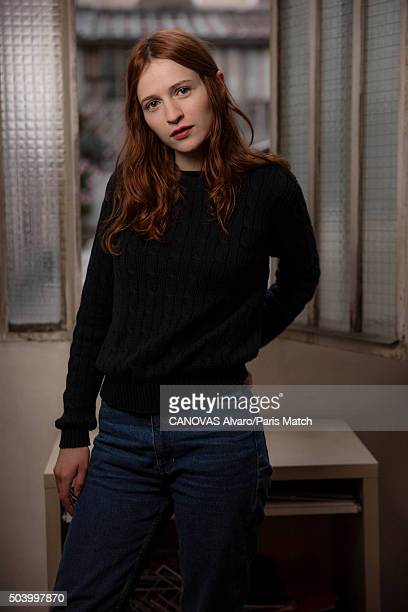 Actor Christa Theret is photographed for Paris Match on December 16 2015 in Paris France