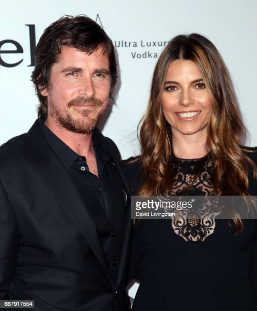 Actor Christian Bale and wife Sibi Blazic attend the premiere of Open Road Films' The Promise at TCL Chinese Theatre on April 12 2017 in Hollywood...