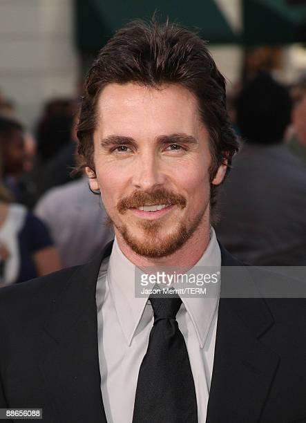 Actor Christian Bale arrives at the 2009 Los Angeles Film Festival's and Universal Pictures' premiere of 'Public Enemies' at the Mann Village...