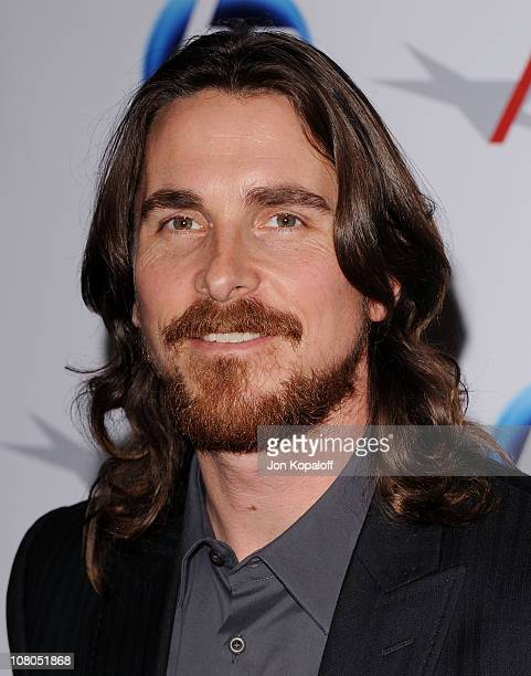 Actor Christian Bale arrives at the 2011 AFI Awards at The Four Seasons Hotel on January 14, 2011 in Beverly Hills, California.