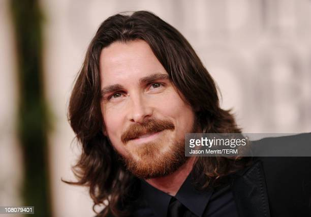 Actor Christian Bale arrives at the 68th Annual Golden Globe Awards held at The Beverly Hilton hotel on January 16, 2011 in Beverly Hills, California.