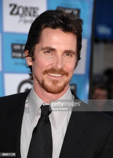 """Actor Christian Bale arrives on the red carpet of the 2009 Los Angeles Film Festival's premiere of """"Public Enemies"""" at the Mann Village Theatre on..."""