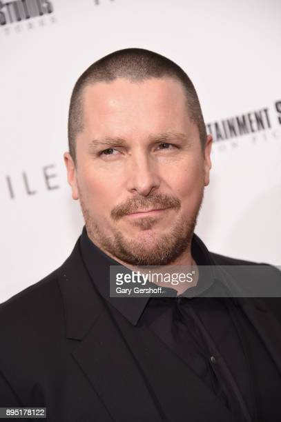 Actor Christian Bale attends 'Hostiles' New York premiere at Metrograph on December 18 2017 in New York City
