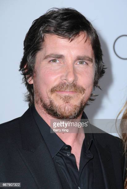 Actor Christian Bale attends premiere of Open Roads Films' 'The Promise' at TCL Chinese Theatre on April 12 2017 in Hollywood California