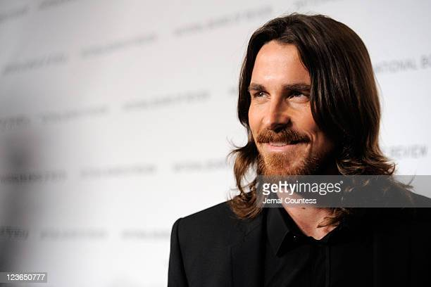 Actor Christian Bale attends the 2011 National Board of Review of Motion Pictures Gala at Cipriani 42nd Street on January 11 2011 in New York City