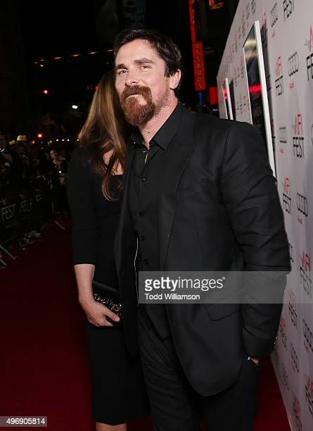 """Actor Christian Bale attends the closing night gala premiere of Paramount Pictures' """"The Big Short"""" during AFI FEST 2015 at TCL Chinese Theatre on..."""