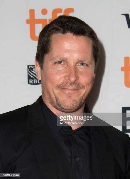 Actor Christian Bale attends the premiere of 'Hostiles' during the 2017 Toronto International Film Festival September 11 in Toronto Ontario / AFP...