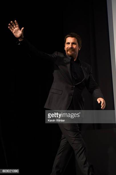 Actor Christian Bale attends the 'The Promise' premiere during the 2016 Toronto International Film Festival at Roy Thomson Hall on September 11 2016...