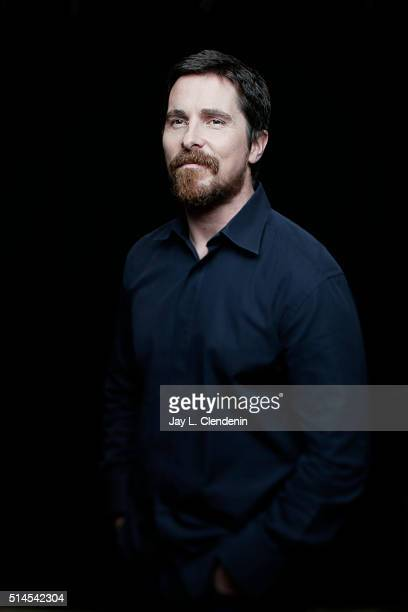 Actor Christian Bale is photographed for Los Angeles Times on March 1 2016 in Los Angeles California PUBLISHED IMAGE CREDIT MUST READ Jay L...