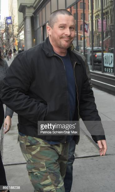 Actor Christian Bale is seen on December 18 2017 in New York City