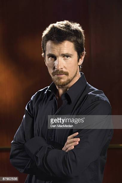 Actor Christian Bale poses at a portrait session at the Beverly Hilton Hotel in Beverly Hills CA Photo by Dan MacMedan USA TODAY contract photographer