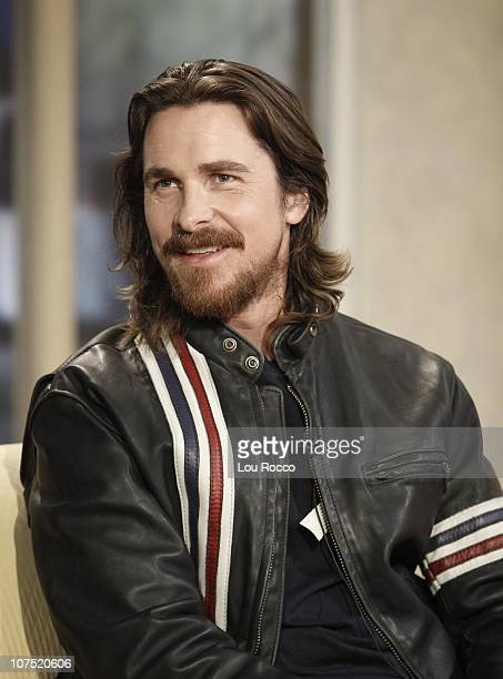 AMERICA Actor Christian Bale visits GOOD MORNING AMERICA 12/10/10 on the ABC Television Network GM10 CHRISTIAN