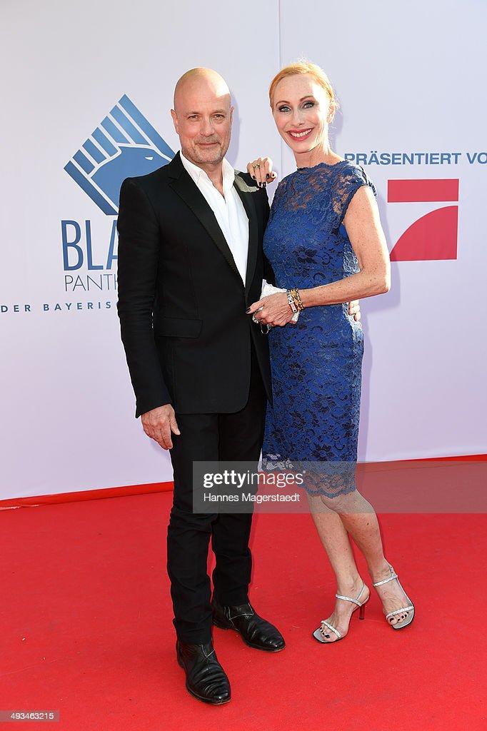 'Bayerischer Fernsehpreis 2014' - Arrivals & Winners Board