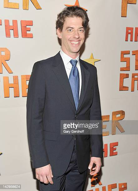 Actor Christian Borle attends the after party for the opening night of 'Peter and the Starcatcher' on Broadway at The McKittrick Hotel on April 15...