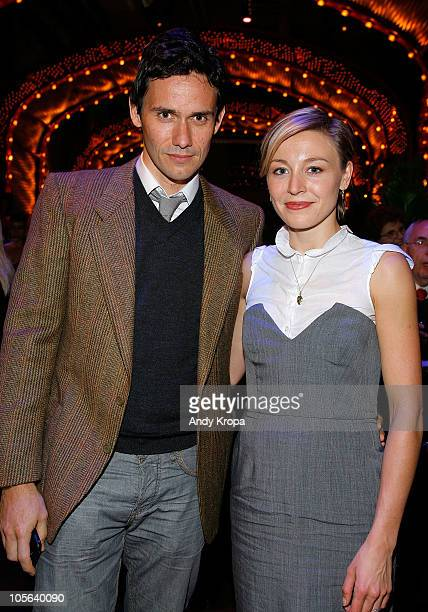 Actor Christian Camargo and Juliet Rylance attend a screening of The Tempest at BAM Rose Cinemas on October 17 2010 in Brooklyn New York City