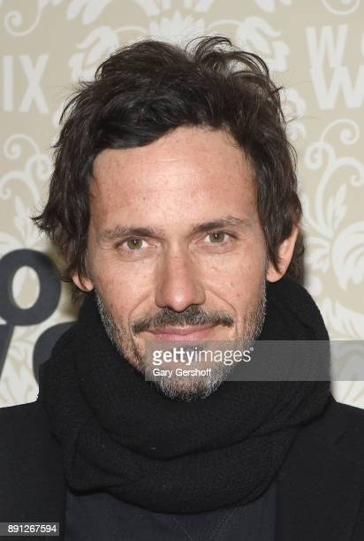 Actor Christian Camargo attends the 'Wormwood' New York premiere on December 12 2017 in New York City