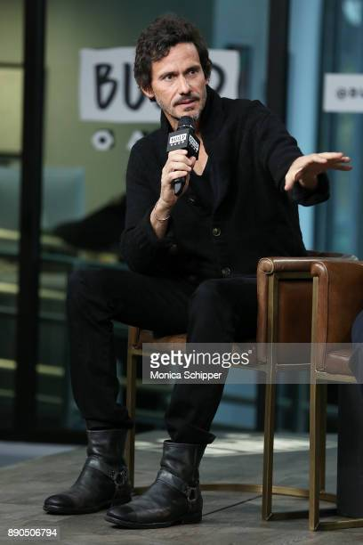 Actor Christian Camargo discusses 'Wormwood' at Build Studio on December 11 2017 in New York City
