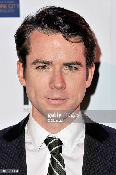 Actor Christian Campbell attends the 2nd annual Broadway Dreams Foundation's holiday benefit concert at New World Stages on November 22 2010 in New...