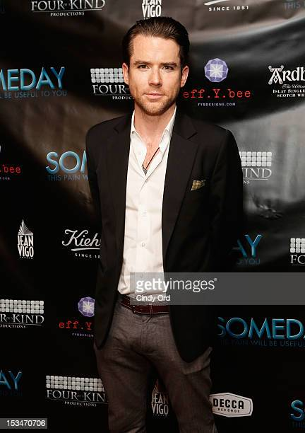 Actor Christian Campbell attends the 'Someday This Pain Will Be Useful To You' New York Screening at Village East Cinema on October 5 2012 in New...
