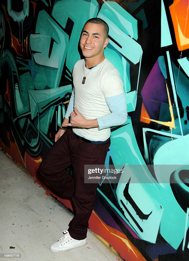 Actor Christian Campos attends the Thirst Project Charity Cocktail Party held at Lexington Social House on January 15, 2013 in Hollywood, California.