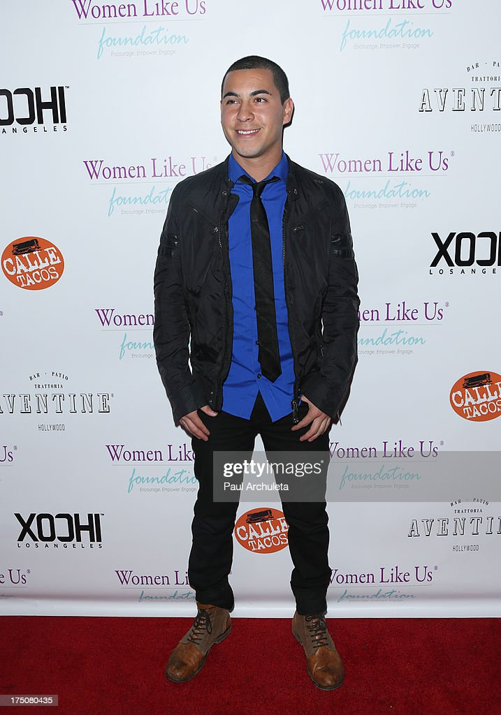 Actor Christian Campos attends the Women Like Us Foundation's One Girl At A Time fundraiser at The Aventine Hollywood on July 30, 2013 in Hollywood, California.