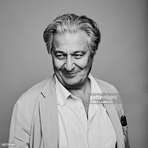 Actor Christian Clavier is photographed for Le Film Francais in Deauville France