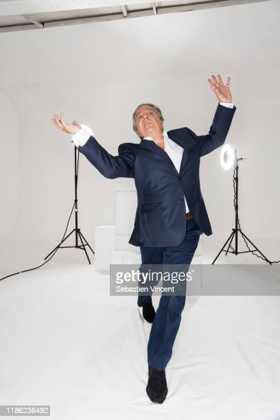Actor Christian Clavier poses for a portrait on February 2, 2016 in Paris, France.