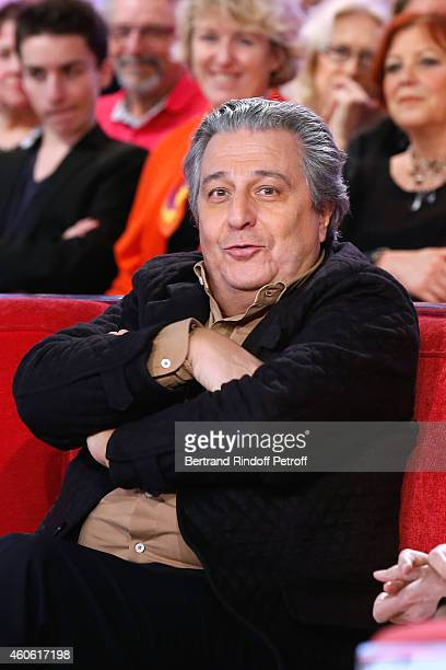 Actor Christian Clavier presents the movie 'Une heure de tranquilite' during the 'Vivement Dimanche' French TV Show at Pavillon Gabriel on December...