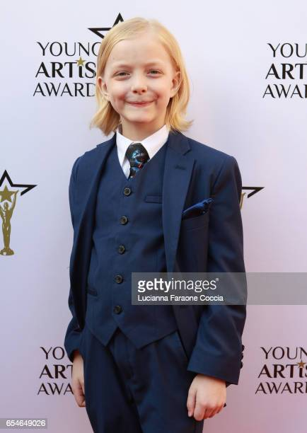 Actor Christian Ganiere attends the 38th Annual Young Artists Awards at Alex Theatre on March 17 2017 in Glendale California
