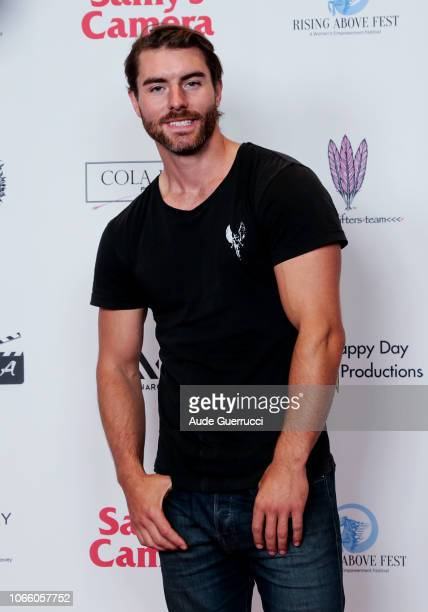 Actor Christian Howard arrives at Rising Above Fest Female Empowerment Fest For Females In Film TV Fashion And Music at Regal LA Live Stadium 14 on...