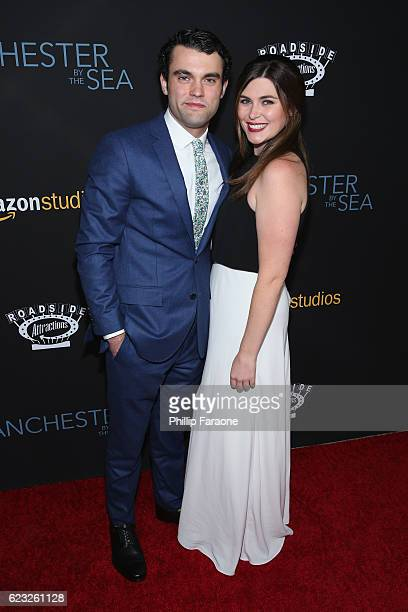 Actor Christian J Mallen and Mary Mallen attend the premiere of Amazon Studios' 'Manchester By The Sea' at Samuel Goldwyn Theater on November 14 2016...